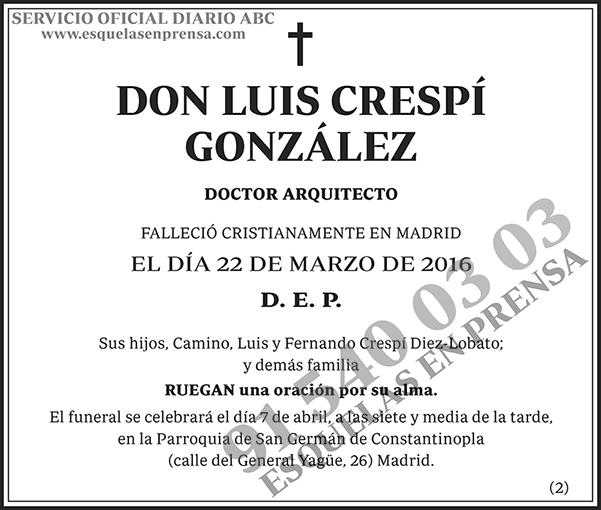 Luis Crespí González
